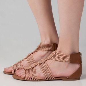 CIRCUS BY SAM EDELMAN Gladiator Flat Sandals